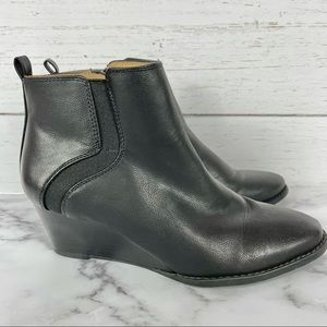 Franco Sarto Willow Wedge Booties/Ankle Boots